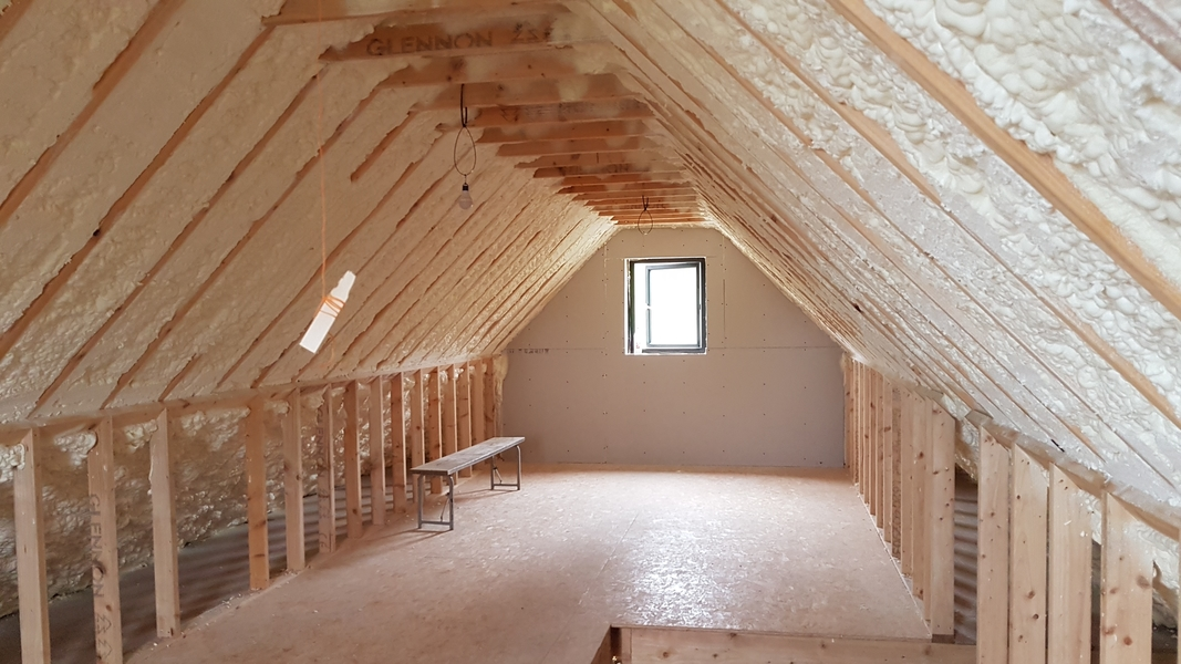 Attic Insulation - Uvalue - Spray Foam