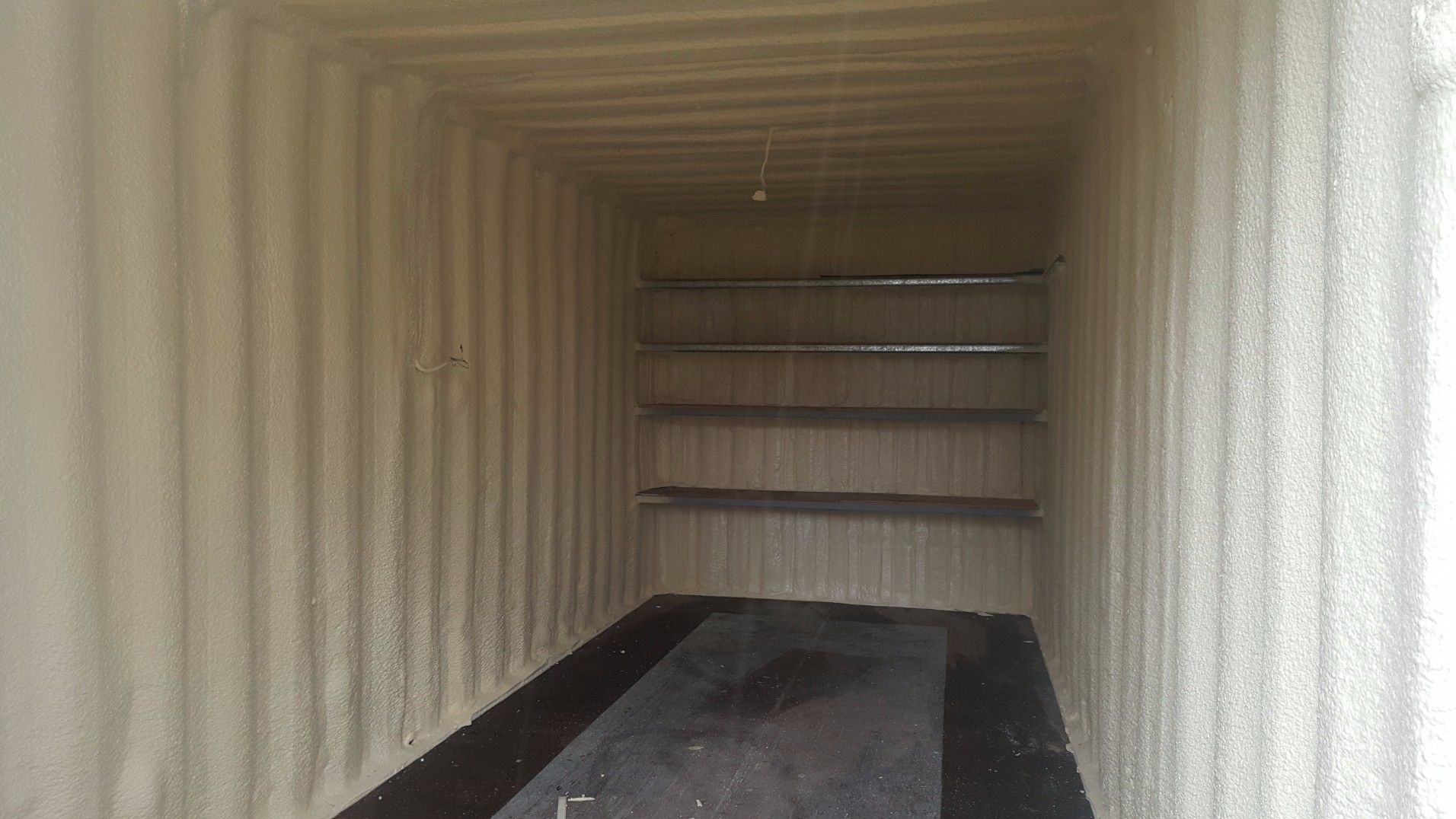 Shipping Container Insulation Experts Spray Foam Services